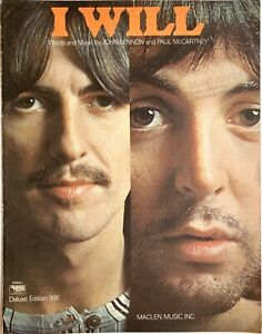 The Beatles I WILL Sheet Music CHARLES HANSEN 05563 Maclen LENNON & McCARTNEY