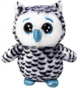 "LIL PEEPERS 8"" (20cm) Plush - Snowy Owl Moonbeam - Russ / Kellytoy"