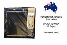 Refillable Self-Adhesive Photo Album - 275mm x 300mm 10 Pages