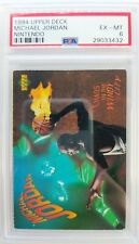 1994 Upper Deck Nintendo Michael Jordan Chaos In The Windy City, PSA 6, Only 10^