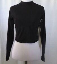Lululemon Black color Solid Sea Courage Rashguard Long Sleeve Size 8