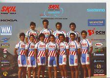 CYCLISME carte  équipe cycliste SKIL SHIMANO