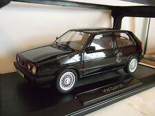 VW Golf 2 II GTI g60 1990 negro de norev 1:18 nuevo & OVP