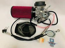 LTZ400 LTZ 400 Z400 Carb Kit Complete Stock Carburetor Intake Filter Cable