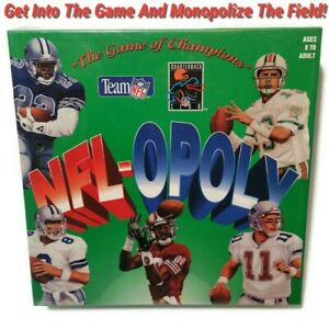 NFL-OPOLY Football Team Board Game Of Champions TDC 1994 Sealed New Farve Rice