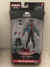 Spider-Man Into the Spider-Verse Stilt-Man Marvel Legends MILES MORALES non-mint