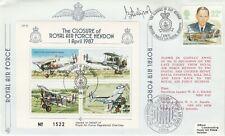 JSF10c Closure of RAF Hendon Signed B H Drobinski Polish Battle of Britain pilot