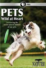 Nature: Pets - Wild at Heart (DVD, 2015) SEALED