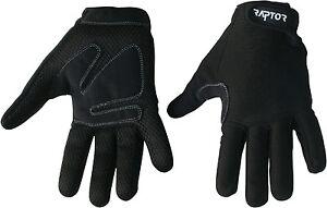 Raptor Standard Padded Wheelchair/Crutch Full Fingered Gloves. XS/S/M/L/XL/XXL