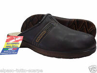 Ciabatte chiuse, pantofole Uomo. ARIZONA - 3805. Pelle sintetica. Da infilare.
