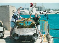 More details for top gear - richard hammond signed 12 x 8 photo