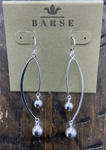 Barse Taxco Bell Choir Earrings-Sterling Silver-NWT