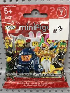 LEGO Minifigure 8831 (col07-3) BUNNY SUIT GUY-Collectible Series 7-BRAND NEW Fig