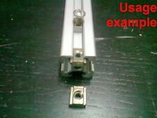Aluminum T-slot profile slide-in T-nuts 6T-20 M4mm, 24-set