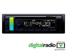 JVC KD-DB98BT Car Stereo CD DAB Bluetooth USB Aux iPod iPhone Android Aerial