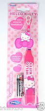 Hello Kitty Niños Niña Turbo Power Battery Powered Cepillo De Dientes edad 2-6years