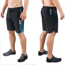 Virus St1 Men's Airflex Cool Training Black/Blue Shorts,Crossfit,Mma,Bjj,G ym