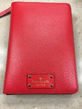 NWT KATE SPADE Cherry Liquor ZIP AROUND ORGANIZER PLANNER AGENDA 2017 Inserts
