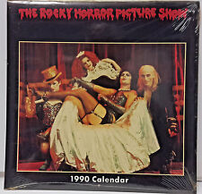 """1990 The Rocky Horror Picture Show Calendar - 12"""" x 12"""" - SEALED"""