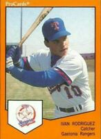 1989 Ivan Pudge Rodriguez Gastonia Rangers ProCards #1006 **FIRST RC CARD** MINT