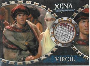 Xena Dangerous Liaisons costume card C11 William Gregory Lee/Virgil variant