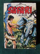 SAFARI N° 38, album relié (des N° 140, 141, 142) - MON JOURNAL - 1980
