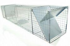 Trappola Vivente 150x29x31 Fox Procione Tierfalle con 2 Ingressi