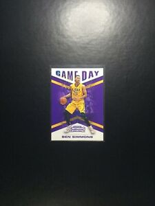 2016-17 Panini Contenders BEN SIMMONS Game Day LSU #1 RC Rookie 76ERS
