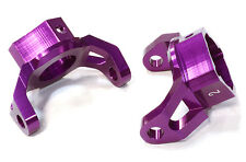 C26392PURPLE Integy Billet Caster Blocks for HPI 1/10 Scale Crawler King