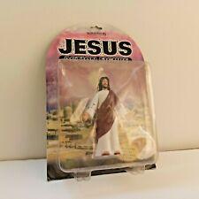 Jesus Action Figure Poseable Arms Gliding Action Accoutrements 2001 MOC