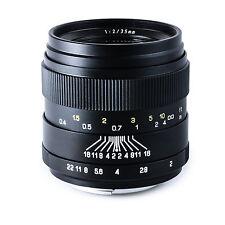 Oshiro 35mm f/2 Wide Angle Lens for Nikon D4 D810 D750 D5500 D5300 D3300 D3200