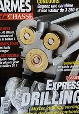 ARMES DE CHASSE - 12 - 2004 - les fusils granger - browning - les cartouches