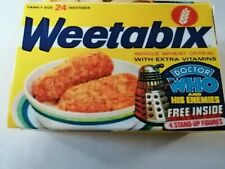 Doctor who Small Mock up Weetabix Box. Type one.