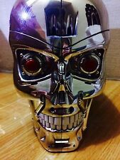 5.9in 15cm Terminator 2 T-800 endoskeleton Head figure Skull topper cookies Box