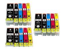 15 Cartuchos de tinta para Epson XP-540 XP-640 XP-645 XP-900 XP-530 XP-630 XP-635