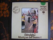 LP SENEGAL Musique des Bassari   Le Chant Du Monde   LDX 74 753  (1981)