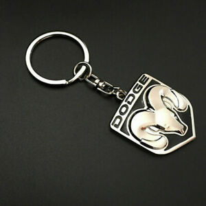 DODGE Logo Keychain Key Tag RAM Trucks Charger challenger viper head logo