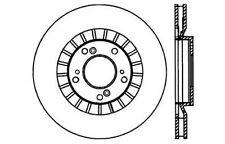Disc Brake Rotor-High Performance Drilled Centric fits 00-08 Honda S2000