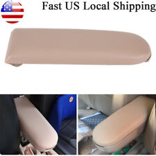 Beige For VW Jetta Golf MK4 Beetle PU Leather Console Center Armrest Cover Lid