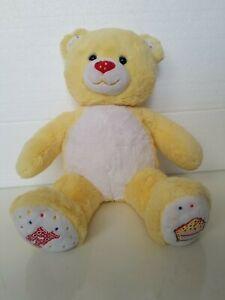 Build A Bear 2010 Yellow Happy Birthday Celebration/Celebearation Teddy Bear EUC