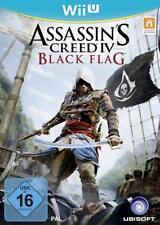 Nintendo Wii U Assassins Creed IV Black Flag Neuwertig