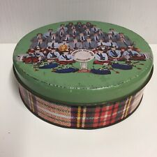 Tartan Biscuit Tin - St Andrews Pipe Band Brisbane - Empty - Collectable