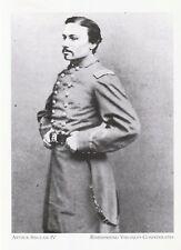 "*Postcard-""Arthur Sinclair IV"" *Remembering Virginia's Confederate (A53-2)"