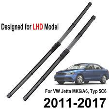 Front Windshield Wiper Blades For VW Jetta Vento 5C6 2011 2012 2013 2014 2015 16