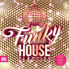 MINISTRY OF SOUND - FUNKY HOUSE CLASSICS - DAVID GUETTA MYLO - 4 CDS - NEW!!