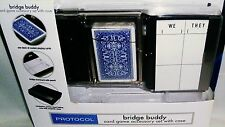 BRIDGE BUDDY Card Game Accessory Set With Case
