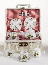 Delton Children's Porcelain Tea Set for 2-Lady Bug #8049-4