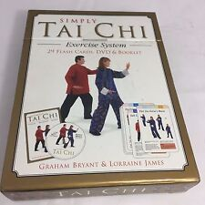 Simply Tai Chi Exercise System with DVD and flash cards Graham Bryant & Lorraine