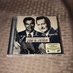 MINT! Jim & Jesse : Y'all Come-Essential Bluegrass 1 Disc CD