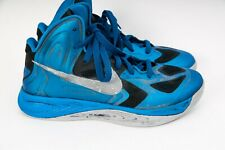 Nike Hyperfuse 525022-402 Men's Basketball Shoes Size US 9 (EUR 42.5) Blue Boots